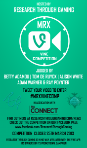 Entries Are In For The #MRXVineComp!