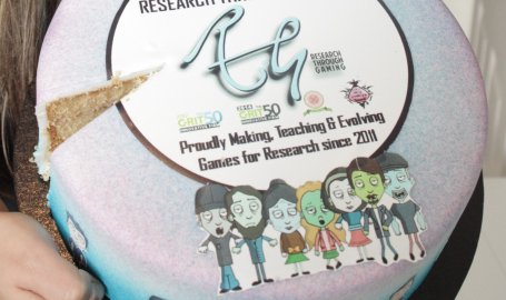 3rd Birthday celebrations for Research Through Gaming!