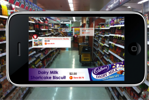 Augmented Reality Example Cadbury Research Through Gaming Blog