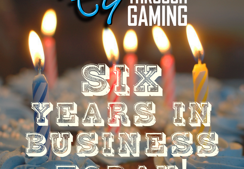 Research Through Gaming celebrates six years in business!