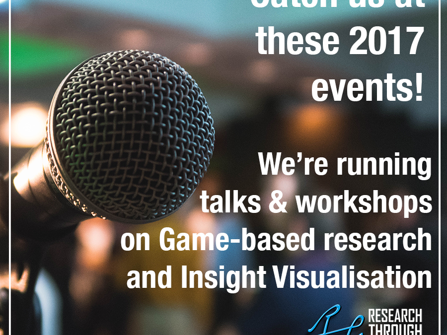 Here's where we're speaking in the next few months – join us!