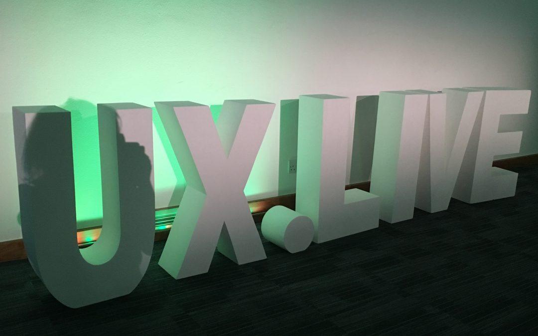 UX.Live conference! We spoke, we debated, we learned