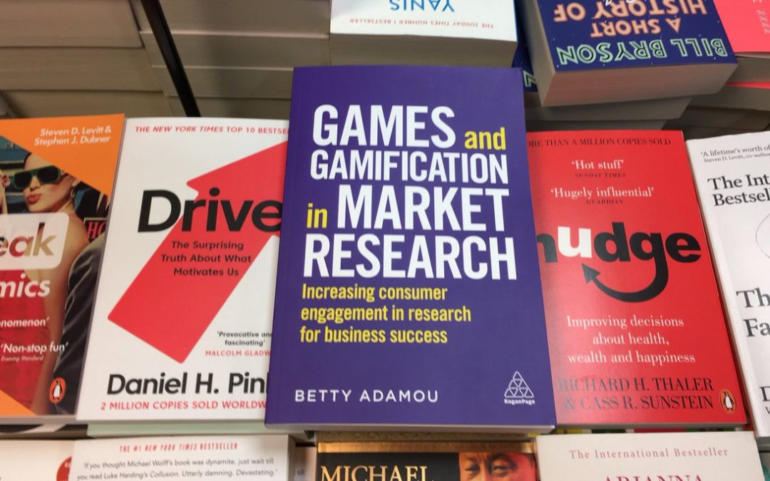 The book is here! Games and Gamification in Market Research: Increasing Consumer Engagement in Research for Business Success